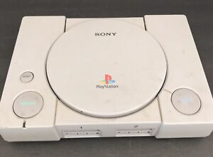 Sony-PlayStation-PS1-Console-SCPH-7501-For-Parts-Or-Repair-Powers-On