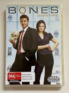 BONES-Season-3-4-Dvd-Set-VGC