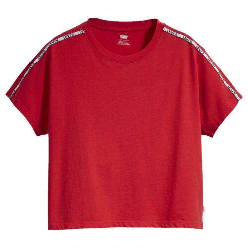 mode Levi´s ® Varsity Rot T72775// T-Shirts Frau Rot T-Shirts Levi´s ®