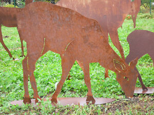 rostfiguren selber machen – leamarieravotti, Garten ideen gestaltung