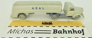 Aral-Gris-Camion-Citerne-Mercedes-5000-Camion-imu-Replique-Serie-1-87-A-LB6