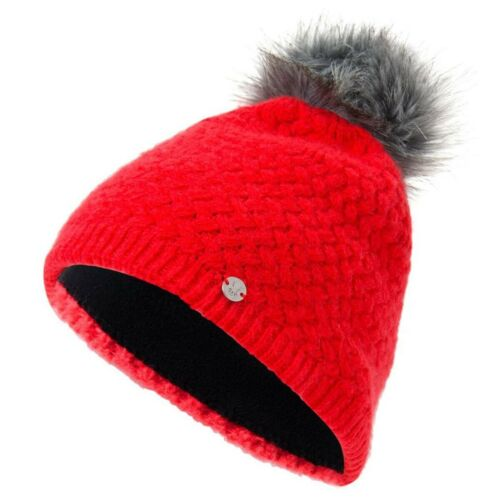 Spyder Icicle Hat Damen Mütze rot