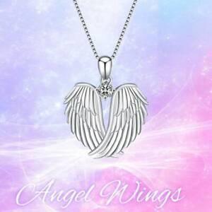 Exquisite-Mode-Halskette-Anhaenger-Angel-Wings-Halskette-Frauen-Schmuck-Re