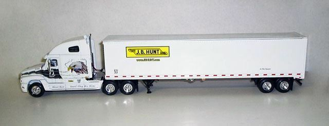 TONKIN 1 64 Scale J.B. Hunt jamais oublié FREIGHTLINER CENTURY clss   64081622