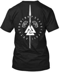 Cool-Viking-odin-norse-Hanes-Tagless-Tee-T-Shirt-Hanes-Tagless-Tee-T-Shirt