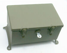 Fender Mounted MEDICAL - TOOL - PARTS - AMMO BOX for Harley WW2 45 Solo WLA WLC