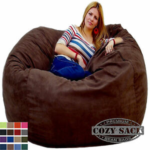 Tremendous Details About Bean Bag Chairs By Cozy Sack Factory Direct 5 Cozy Foam Filled Microfiber Cover Andrewgaddart Wooden Chair Designs For Living Room Andrewgaddartcom