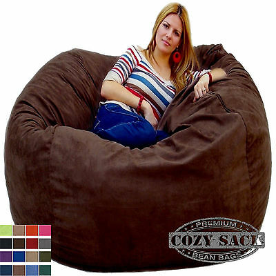 Bean Bag Chairs By Cozy Sack Factory Direct 5u0027 Cozy Foam Filled Microfiber  Cover | EBay