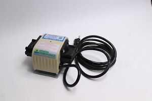 General Hydroponics Dual Diaphragm High Output Air Pump - What is Shown Only