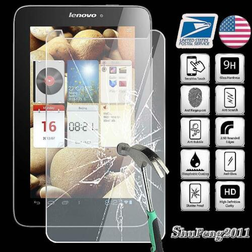 """Tempered Glass Screen Protector For Lenovo IdeaTab A2107 A2017A 7.0/"""" Tablet"""