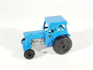 MATCHBOX Lesney Superfast Ford Trattore Blu MADE IN ENGLAND Nº 46 SENZA SCATOLA