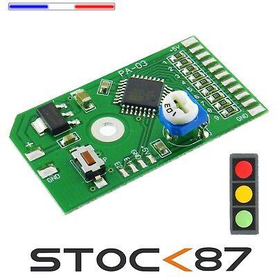signalisation maquette 5040# Module électronique Feux tricolore flash radar