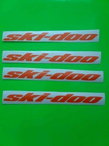 4X ski doo sticker vinyl decal for car and others FINISH GLOSSY