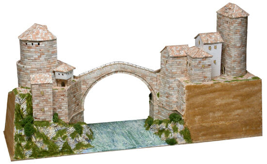 Pont Estrellai Most, Moestrella, Moestrella, Moestrella, Bosnie-Herzégovine Sec. XVI Pcs 5900 Kit 1 130 modello 142ec3