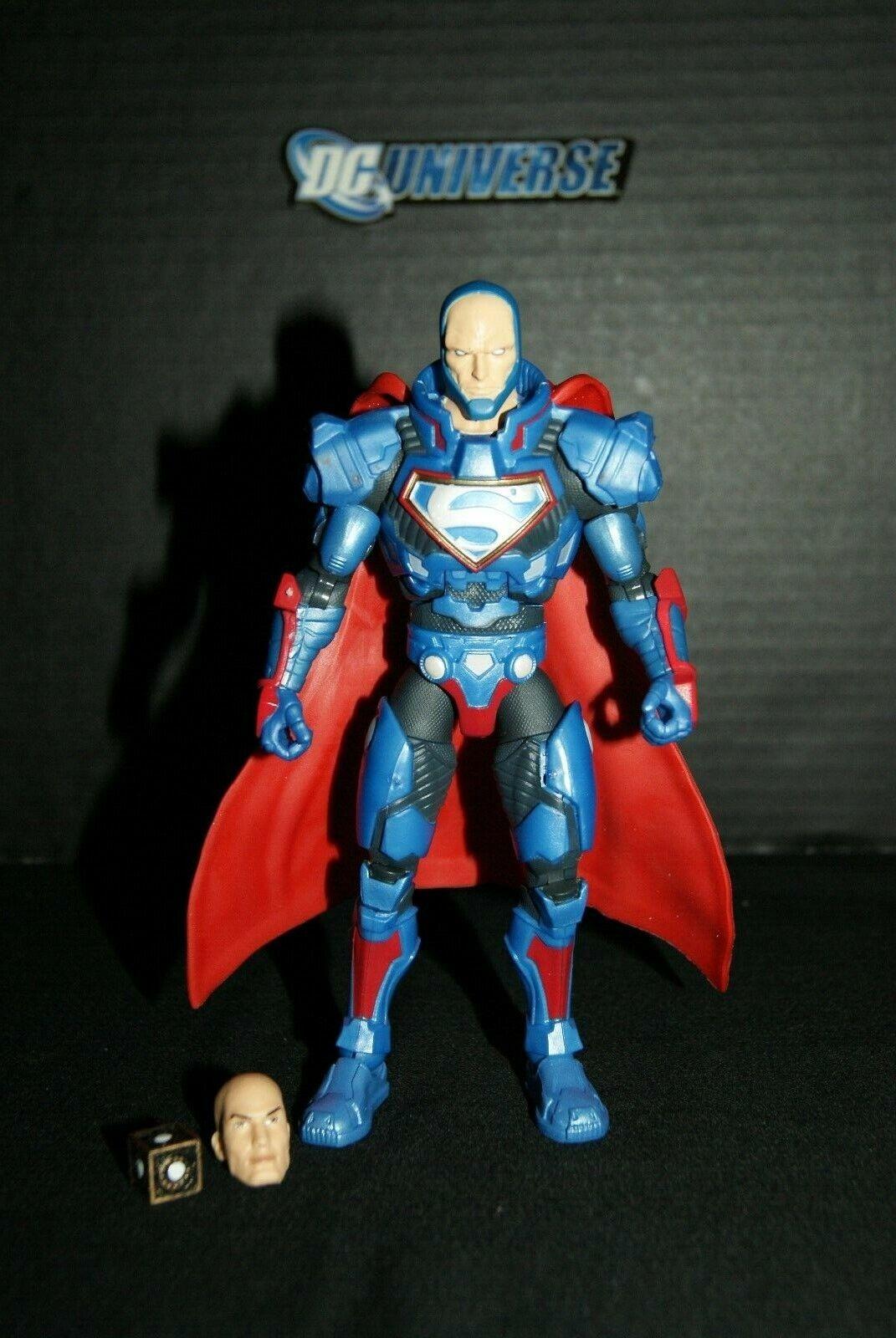 DC Multiverse Lex Lex Lex Luthor CNC Figure - Collect and Connect - BAF - w   Mother box 972550