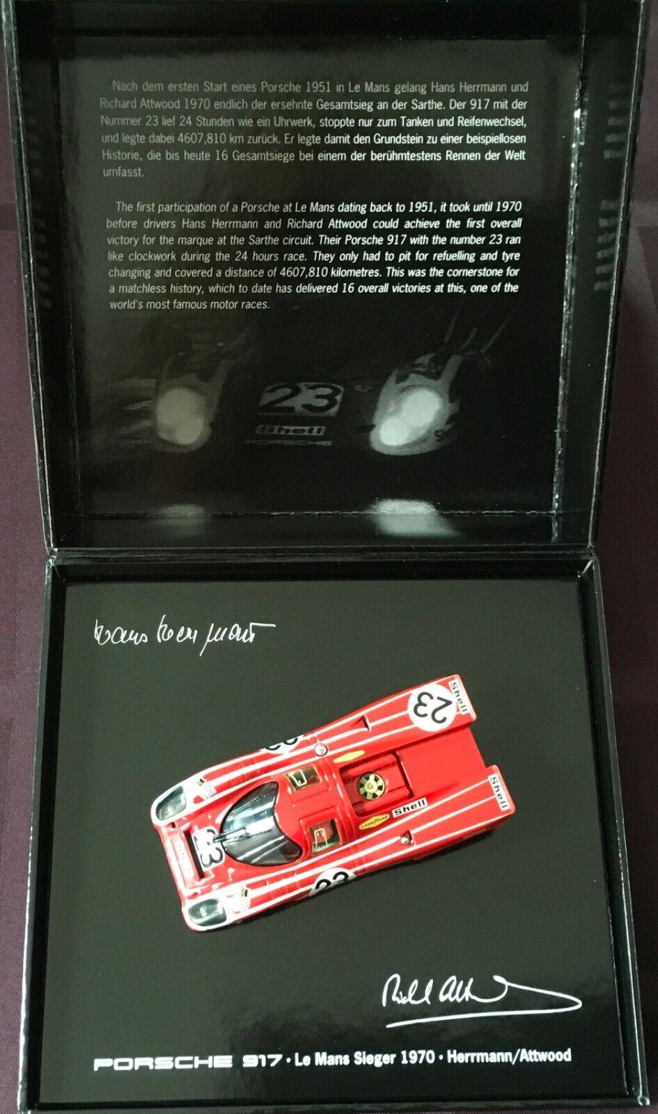 Porsche 917 Salzburg Le Mans Herrmann Atwood  Minichamps 1 43 Model