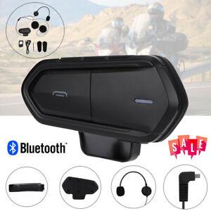 Wireless-Bluetooth-4-1-Motorcycle-Helmet-Intercom-Headset-Interphone-Headphone