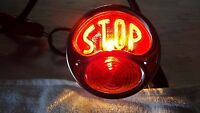1928-1929-1930-1931 28-29-30-31 Ford Model A Lt Stop Tail Light W/ License Plate