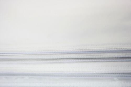 Inlett Inletts Kissenhülle Kissenbezug Kissenbezüge 100/% Baumwolle 40x80cm Weiß