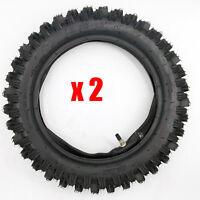 2x 3.00-12 80/100-12 Inch Rear Tyre Tire&inner Tube Electric Pocket Dirt Bike