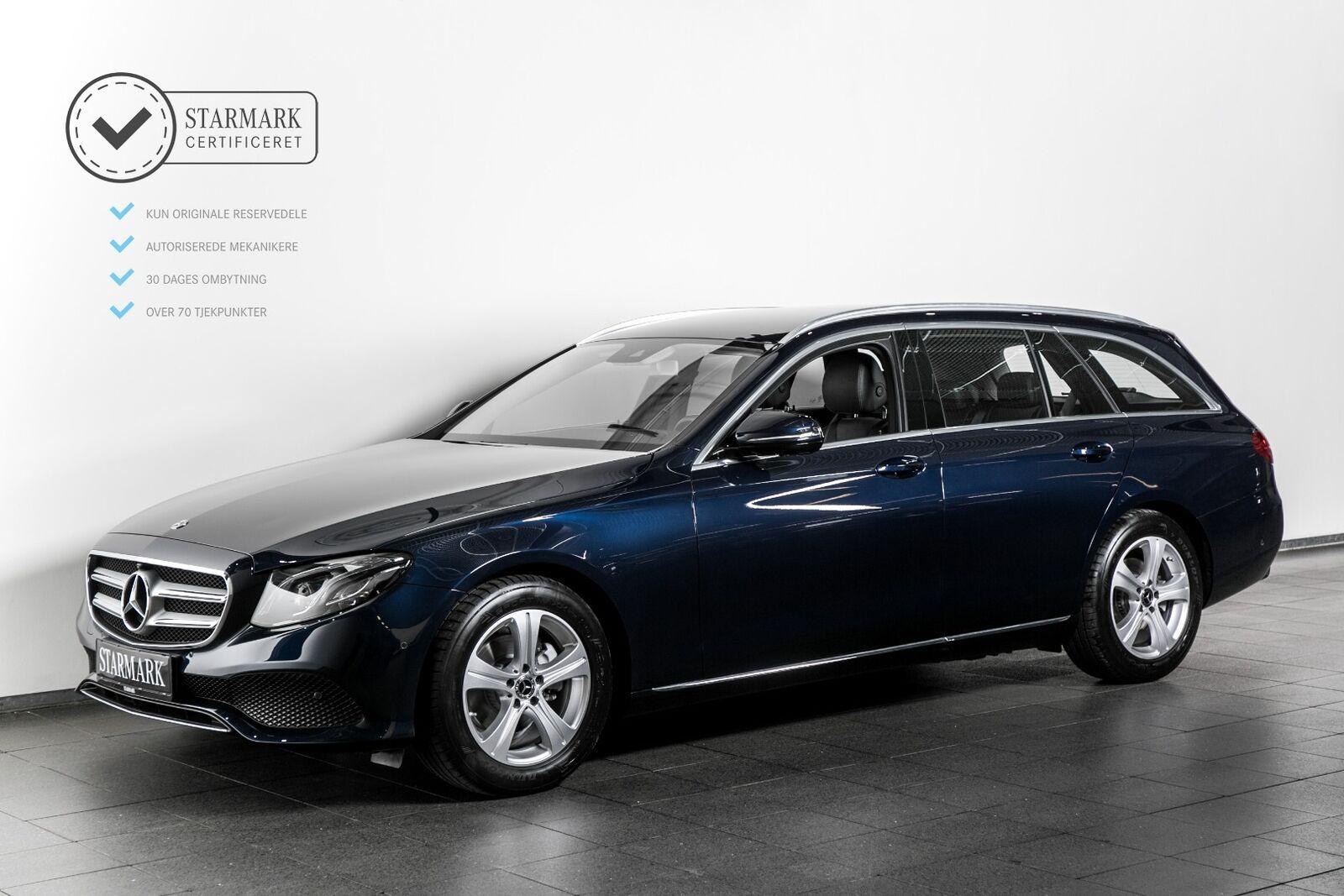 Mercedes E200 2,0 Avantgarde stc. aut. 5d - 529.900 kr.