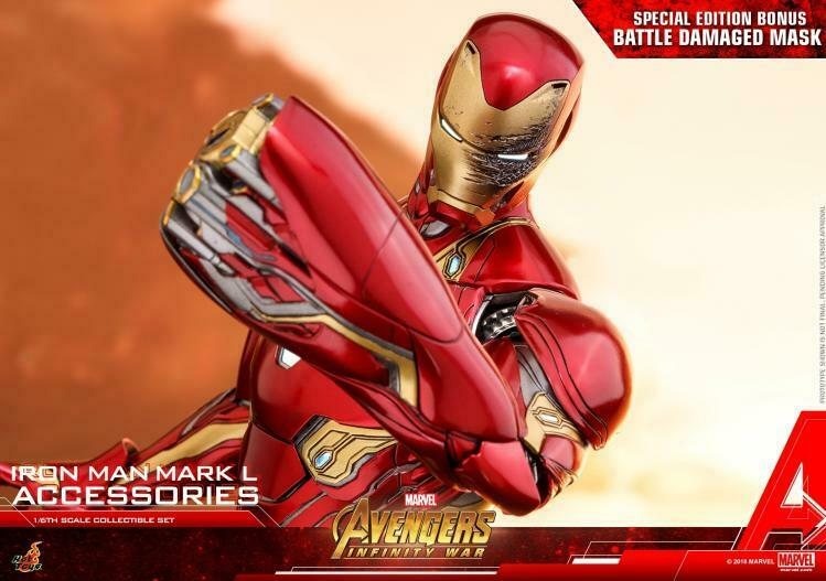 Avengers Infinity War Mark L cifra giocattoli ACS004 1 6  caliente 12  Iron uomo Armatura Nano  offerta speciale