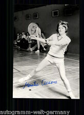 Monika Cassens TOP Foto Orig. Sign. Tennis +A 61877