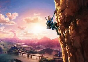 THE LEGEND OF ZELDA A0 - A2 BREATH OF THE WILD Poster