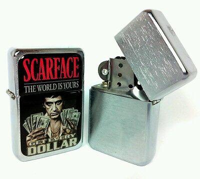 """Scarface"" - Accendino Tristar - Tristar Lighter - Encendedor Tristar"