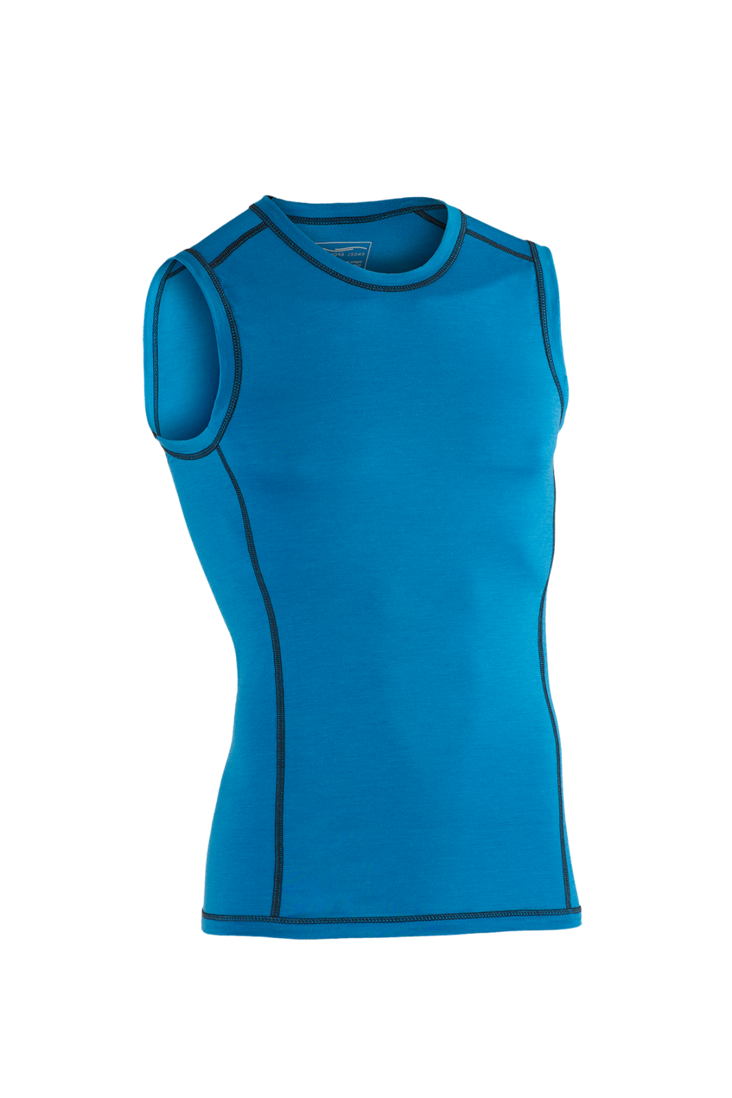 Engel Sports Herren Tank Top Shirt blau sky ESM150202020 Funktionswäsche GOTS