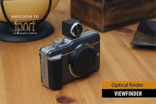 Buscador de Visor 35mm para Leica Voigtlander Carl Zeiss Canon Nikon Lente de cámara