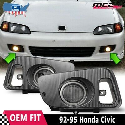 [DIAGRAM_3US]  For Honda Civic 92-95 Factory Replacement Fit Fog Lights Wiring Kit Clear  Lens | eBay | 95 Accord Headlights Wiring Harness |  | eBay