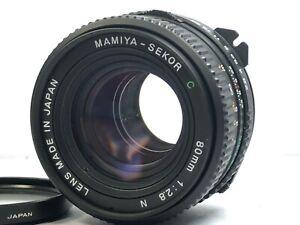 Read-app-Nuovo-di-zecca-Mamiya-Sekor-C-80mm-f-2-8-N-Lente-per-M645-1000S-TL-GIAPPONE-Super