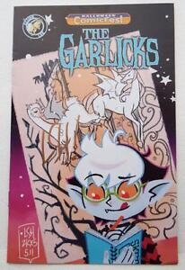 NEW-ECCC-2017-THE-GARLICKS-Halloween-Comicfest-SIGNED-by-LEA-HERNANDEZ