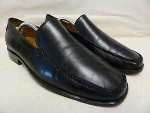 Detalles de Cole Haan Hombre Cuero Negro Clásico antideslizante en mocasines zapatos talla 11M C05191 #110 ver título original
