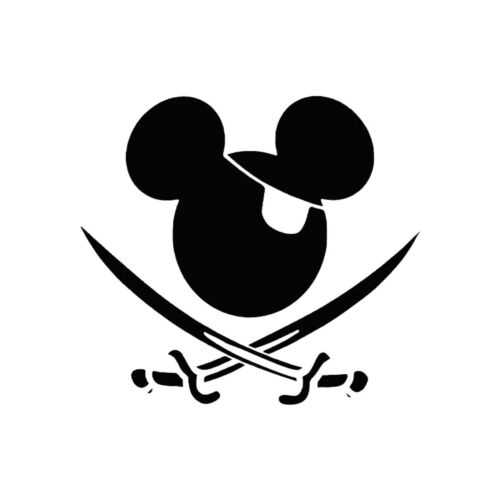 Mickey Mouse Series 4 Style Vinyl Sticker Decals Cute Car Window Cartoon Posters