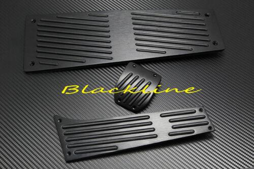 For 2006~10 BMW E60 M5 E63 E64 M6 DCT Auto AT Black Aluminum Pedal Pedals Set