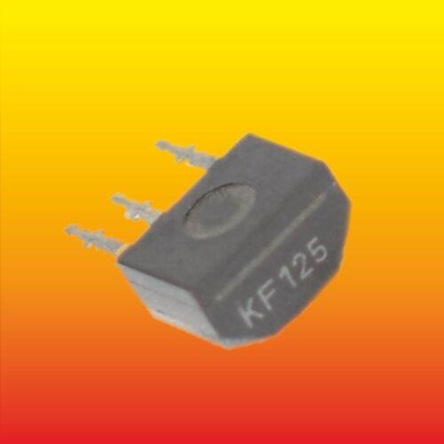 KF125 LOT OF 2 SILICON NPN TRANSISTOR 0.22 W 30mA