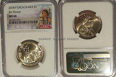 NGC MS66 2015-P Native American Sacagawea Dollar Early Releases