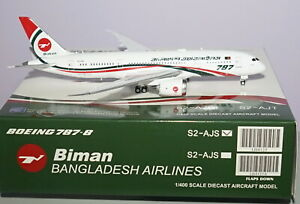 JC-Wings-LH4125-Boeing-787-8-Binman-Bangladesh-Airlines-S2-AJS-in-1-400-Scale