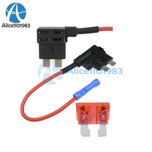 Details about 12V Car Add-a-circuit Fuse TAP Adapter Standard ATM APM on