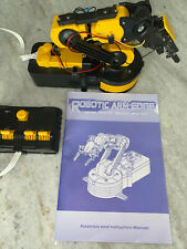 Owi 535 Wired Control Robotic Arm Edge Kit Learning Tool And Manual