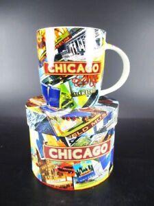 Chicago Tasse à Café Gobelet, Souvenir Tasse Usa Avec Photo Poison Box, Coffee Mug!-r Tasse Usa Mit Foto Gift Box,coffee Mug!fr-fr Afficher Le Titre D'origine SuppléMent éNergie Vitale Et Nourrir Yin