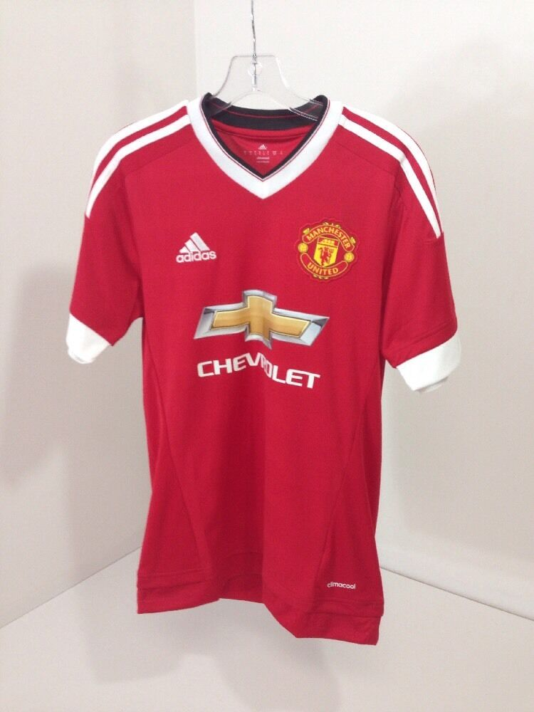NWT Adidas Manchester  United Home Jersey Sm