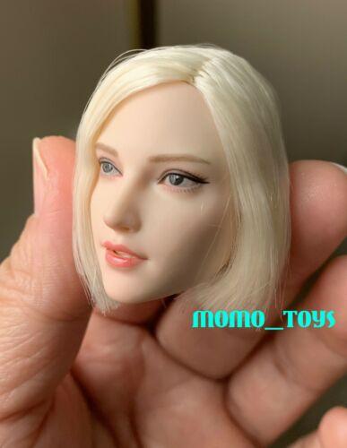"SUPERDUCK 1//6 Female Head Sculpt Short Hair A For Pale TBLeague 12/"" Figure ❶USA❶"