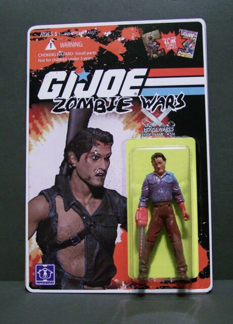 Custom GI Joe figure and package of