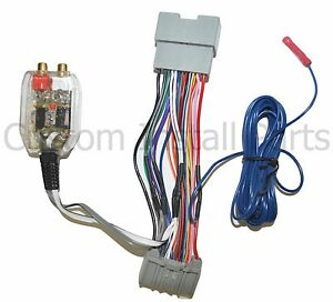 s l300 factory radio add a amp amplifier sub interface wire harness how to add wires to a wiring harness at gsmx.co