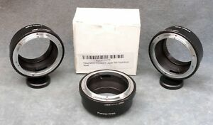3X-FOTOSY-FX-NEX-CANON-FD-TO-SONY-NEX-ADAPTERS-TWO-WITH-TRIPOD-RING-FREE-SHIP