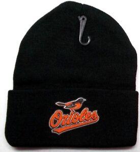 READ-LISTING-Baltimore-Orioles-HEAT-Applied-Flat-Logo-on-Beanie-Knit-Cap-hat-1