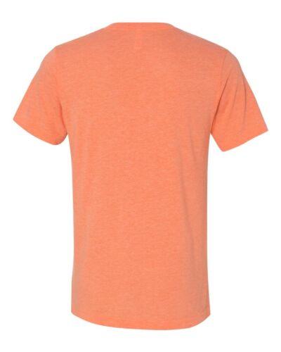 Canvas Bella Mens Unisex Size S M L XL 2XL TriBlend V-Neck T-Shirt Vee Tee 3415